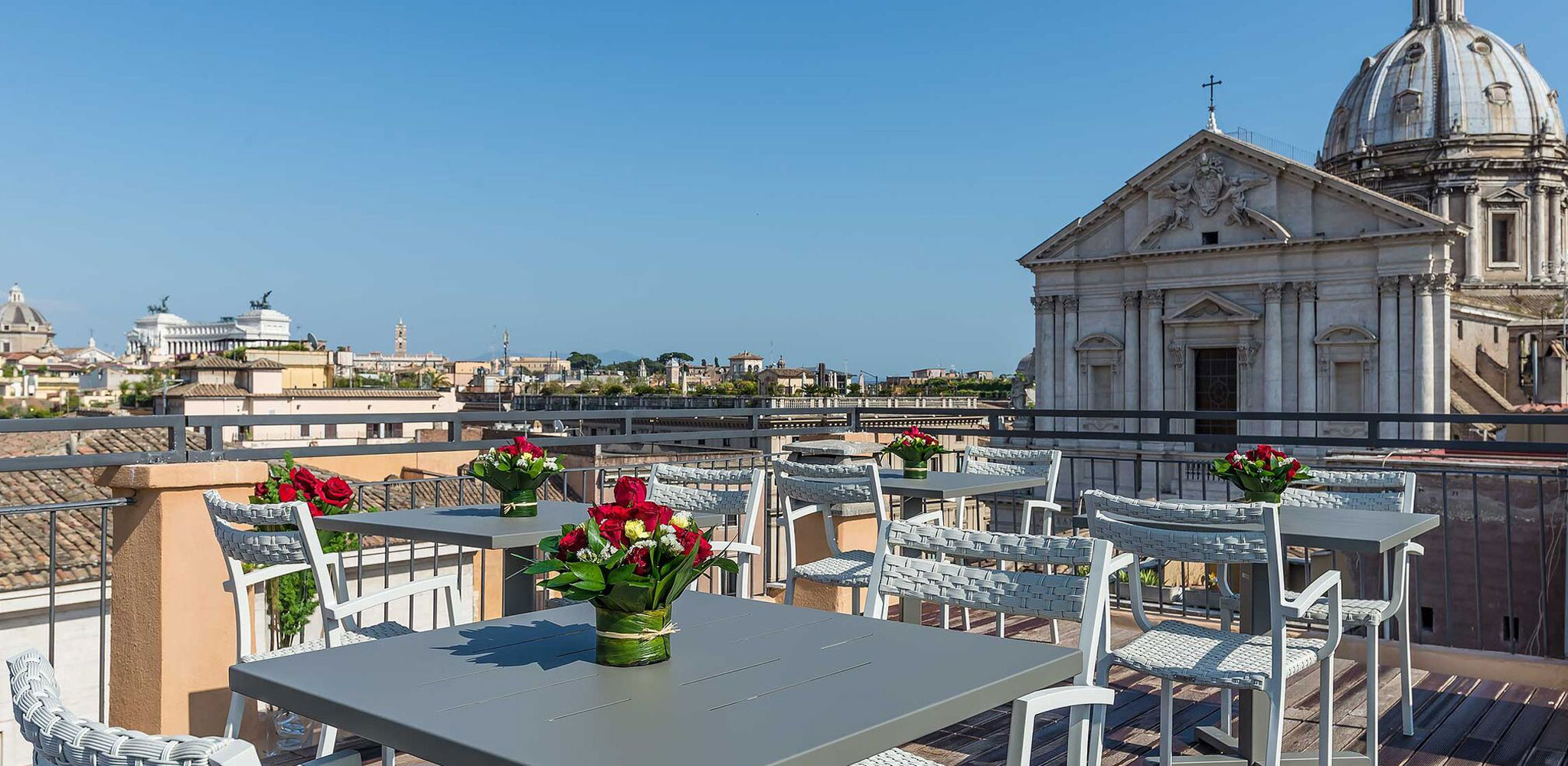 Martis Palace Hotel Roma Roof Bar Hotel 4 Stelle Roma