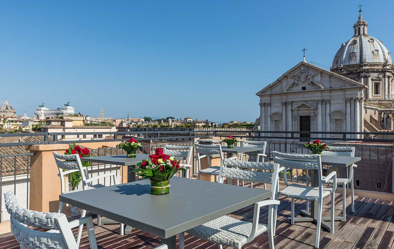 Martis Palace Hotel Roma – Roof Bar Hotel 4 Stelle Roma